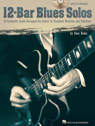 Dave Rubin  Sheet Music 12-Bar Blues Solos Song Lyrics Guitar Tabs Piano Music Notes Songbook