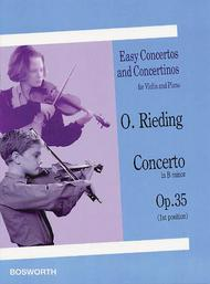 Concerto in B Minor, Op. 35 sheet music
