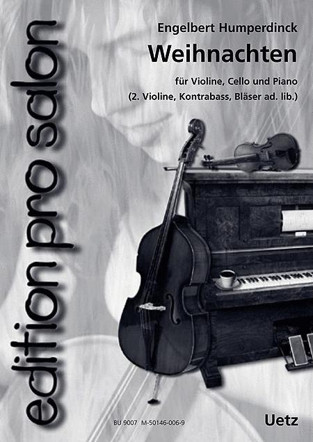 Weihnachtsessen Celle.Sheet Music Christmas Weihnachten Piano Trio Piano Violin Cello