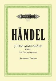 Judas Maccabeus (Vocal Score - German)