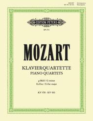 Piano Quartets (2) sheet music