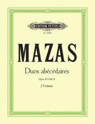 Jacques-Fereol Mazas  Sheet Music 10 Duos abecedaires Op. 85 Vol. II Song Lyrics Guitar Tabs Piano Music Notes Songbook
