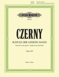 Carl Czerny  Sheet Music 10 Studies for the Left Hand Op. 399 Song Lyrics Guitar Tabs Piano Music Notes Songbook