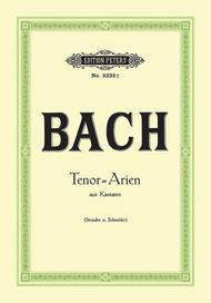 Johann Sebastian Bach  Sheet Music 15 Tenor Arias from Cantatas Song Lyrics Guitar Tabs Piano Music Notes Songbook