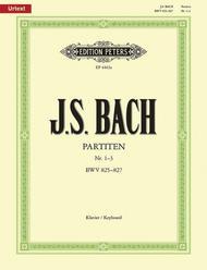 Partitas, Volume 1 (Nos.1-3)