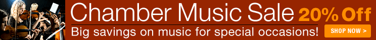 20% Off Chamber Music!
