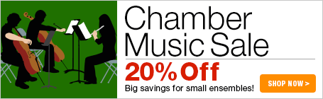Chamber Music Sale - 20% off chamber music!