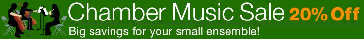 20% Off Chamber Music!