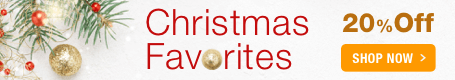 Christmas Favorites Sale - 20% off top-selling sheet music for Christmas and the holidays!