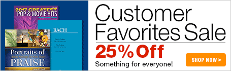 Customer Favorites Sale - 25% Off something for everyone!