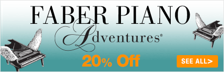 Faber Piano Adventures Sale - 20% off piano method books