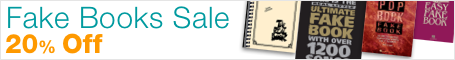 Fake Book Sale - 20% Off lead sheets for every style!