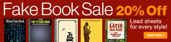 20% Off of Fake Books on Sheet Music Plus