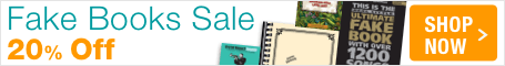 Fake Book Sale - save 20% on lead sheets for every style!