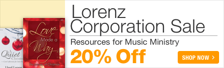 Lorenz Music Sale - 20% off sheet music for choir, piano and schools!