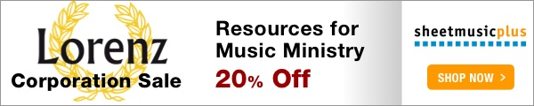 20% Off of Lorenz Music on Sheet Music Plus