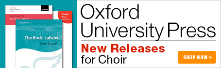 Oxford University Press New Choral Music!