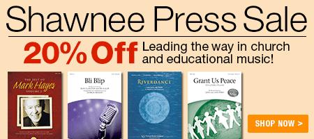20% Off Shawnee Press!