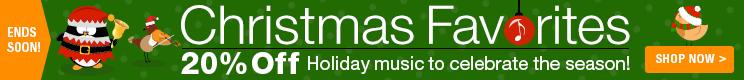 20% Off Christmas Favorites Sheet Music!