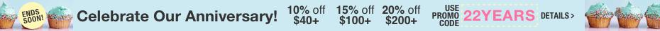 Get 10% off $40 | 15% off $100 | 20% off $200