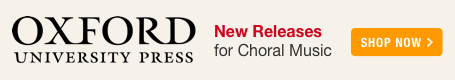 Oxford University Press New Releases for Choir!